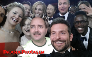 DP oscar selfie